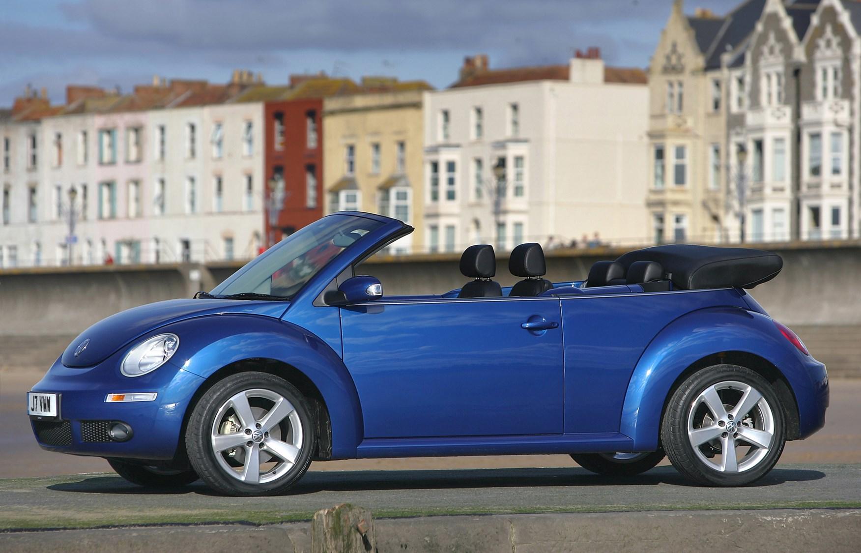 volkswagen beetle cabriolet review (2003 - 2010)   parkers
