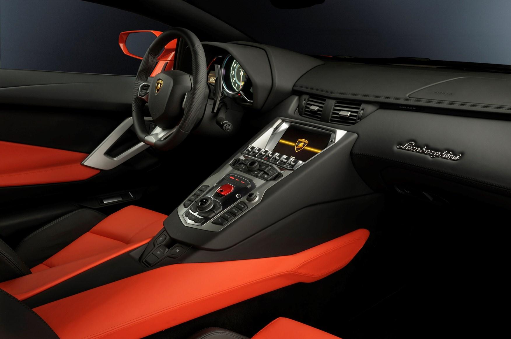 Lamborghini Aventador Coupe 2011 Features Equipment And