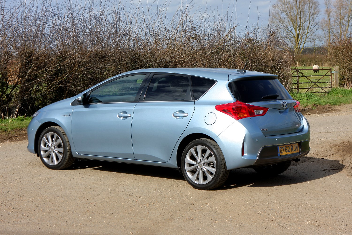 toyota auris hatchback review 2012 parkers. Black Bedroom Furniture Sets. Home Design Ideas