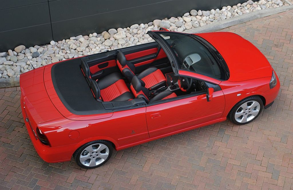 Vauxhall Astra Convertible Review 2001 2005 Parkers