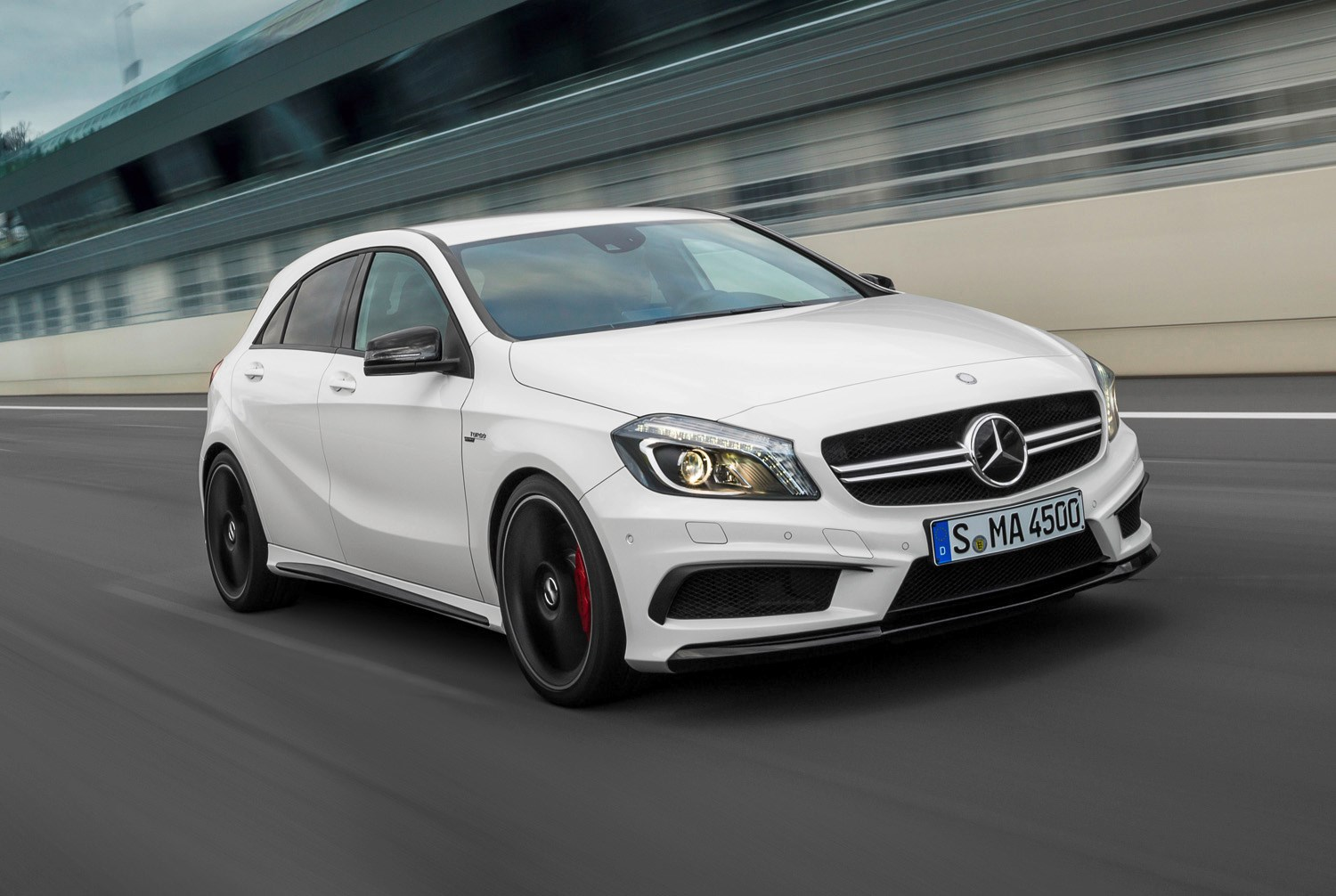 Mercedes benz a class amg review 2013 2018 parkers for How much is a mercedes benz c class