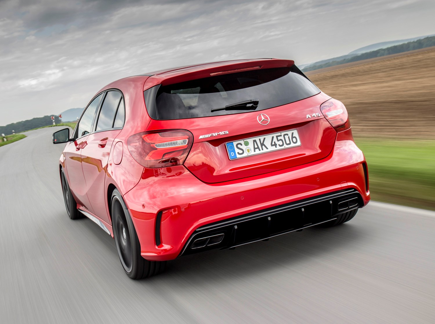 Mercedes benz a class amg review 2013 parkers for How much is a mercedes benz c class