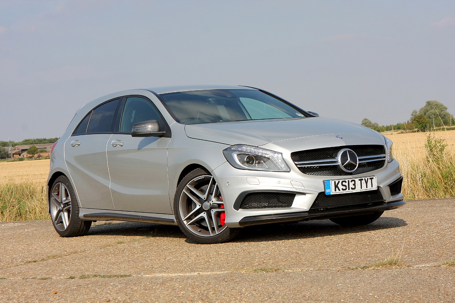 Mercedes benz a class amg 2013 running costs parkers for How much is a new mercedes benz