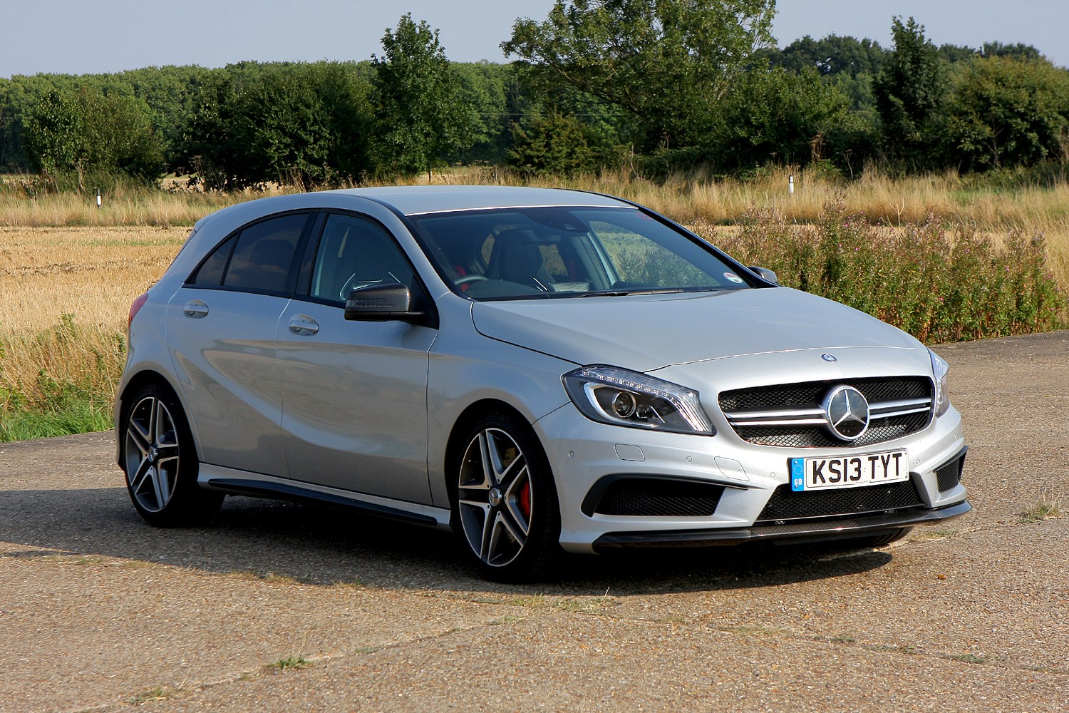 Mercedes benz a class amg review 2013 parkers for How much is mercedes benz