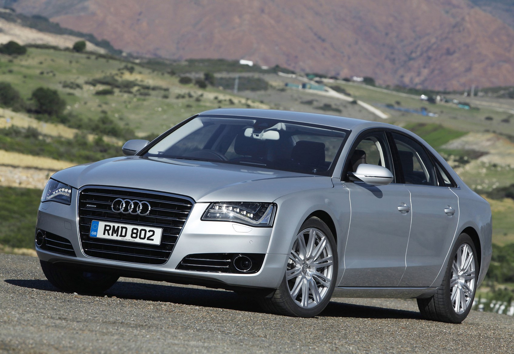 audi a8 saloon 2010 features equipment and accessories parkers. Black Bedroom Furniture Sets. Home Design Ideas