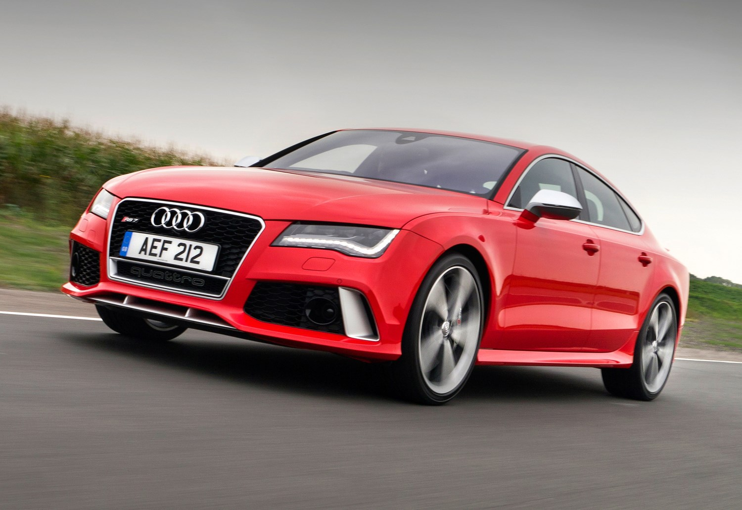 audi a7 rs7 sportback review 2013 parkers. Black Bedroom Furniture Sets. Home Design Ideas