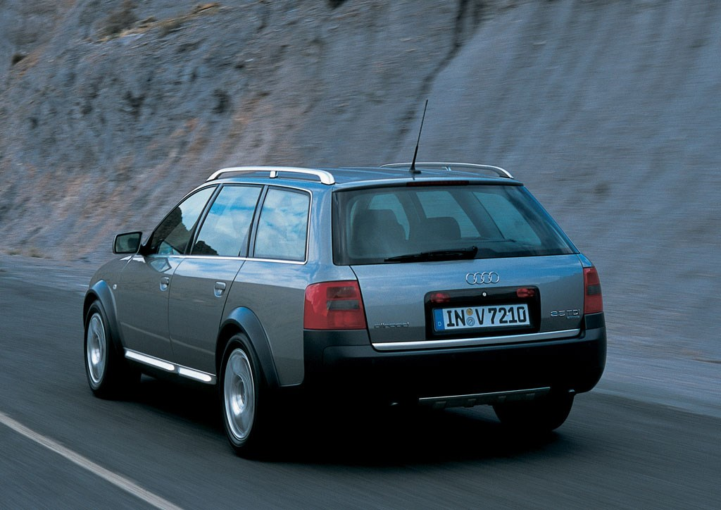 audi a6 allroad 2000 2005 features equipment and accessories parkers. Black Bedroom Furniture Sets. Home Design Ideas
