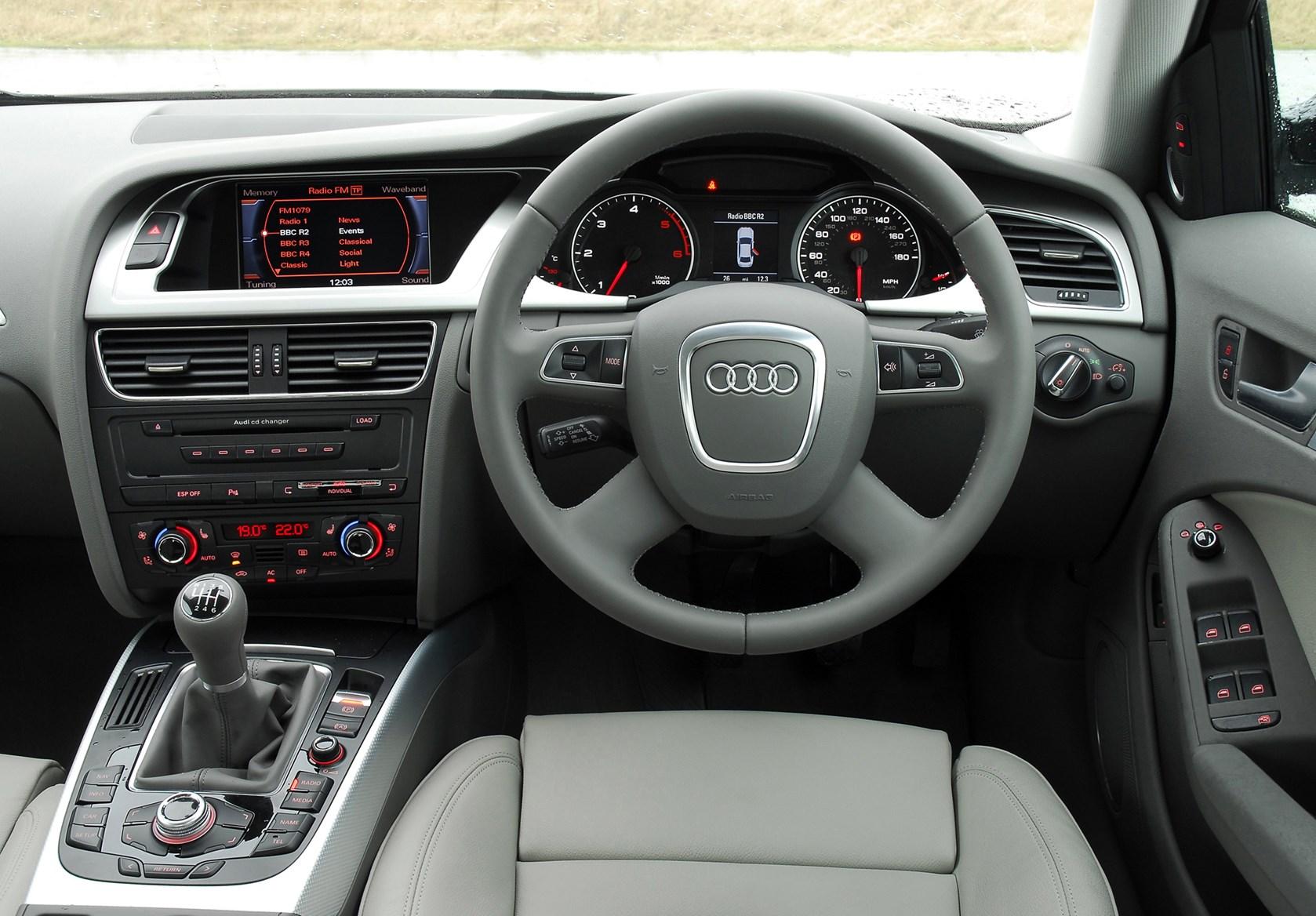 Audi A4 Saloon Review 2008 2015 Parkers