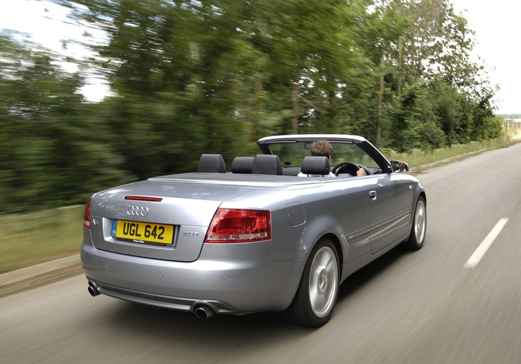 Audi A4 Cabriolet 2006 2009 Features Equipment And Accessories