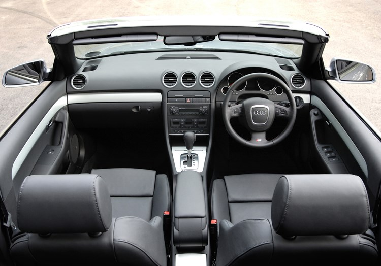 audi a4 cabriolet review 2006 2009 parkers. Black Bedroom Furniture Sets. Home Design Ideas