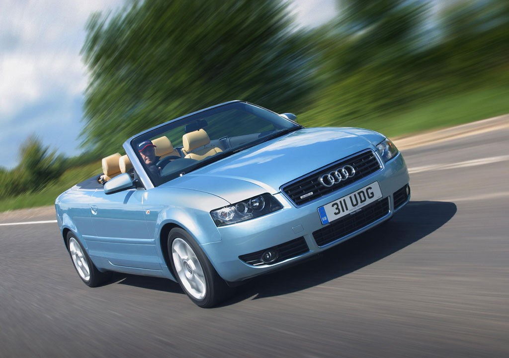 audi a4 cabriolet review 2001 2005 parkers. Black Bedroom Furniture Sets. Home Design Ideas