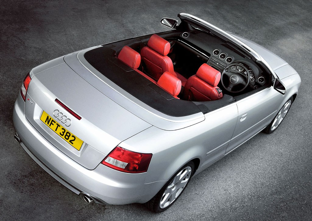 audi a4 cabriolet 2001 2005 features equipment and. Black Bedroom Furniture Sets. Home Design Ideas