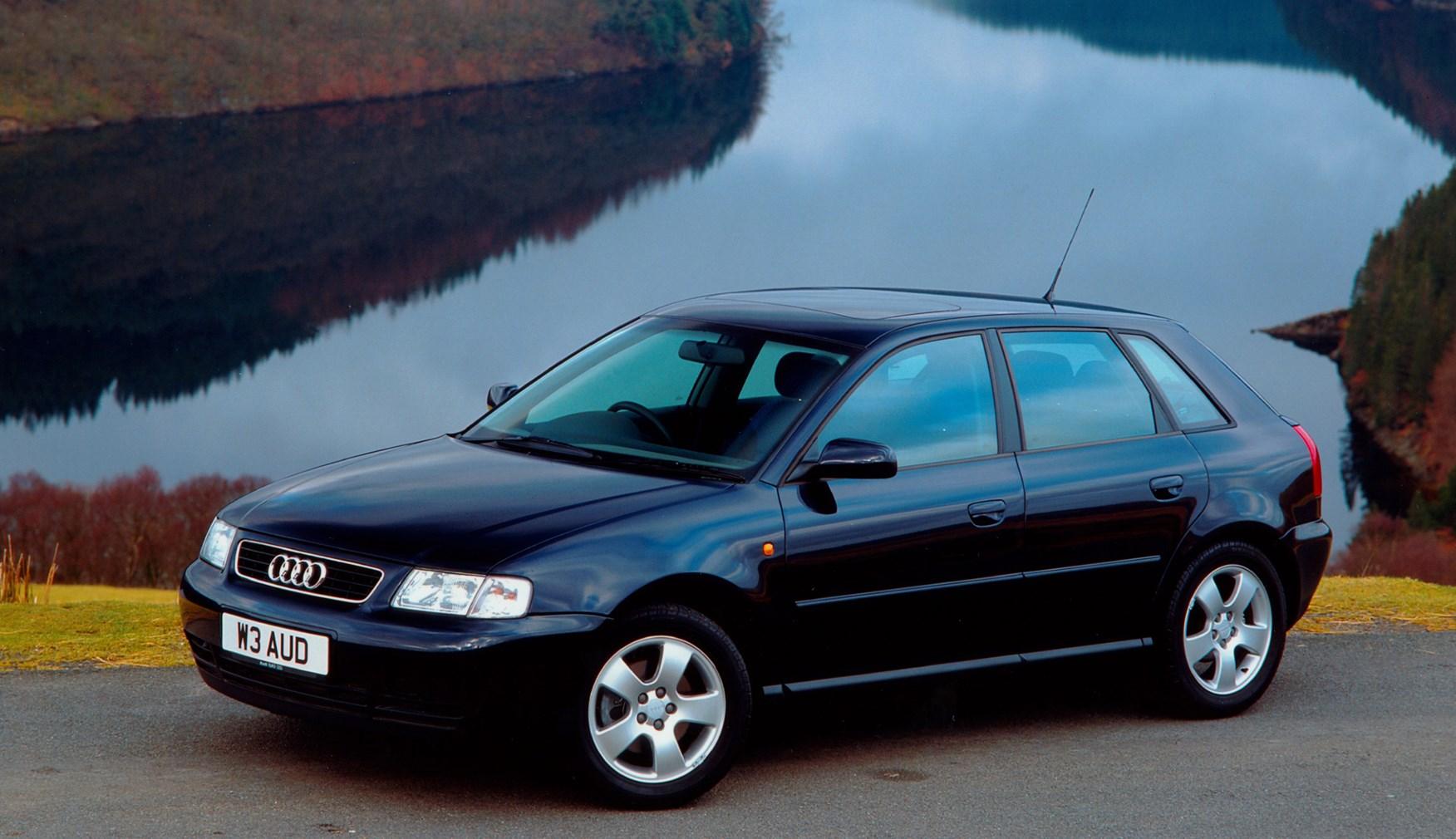 audi a3 hatchback review 1996 2003 parkers. Black Bedroom Furniture Sets. Home Design Ideas