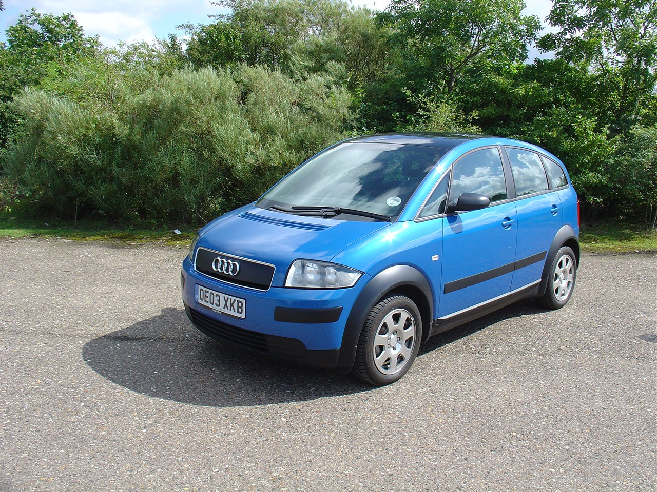 Audi A2 Hatchback Review 2000 2005 Parkers