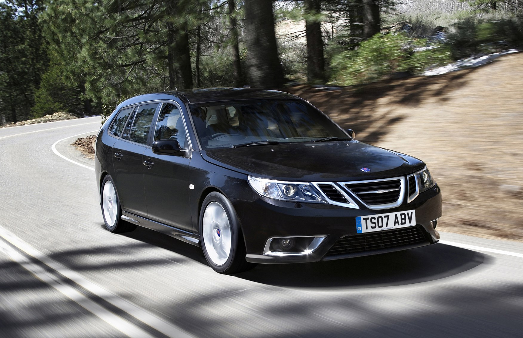 saab 9 3 sportwagon review 2005 2011 parkers. Black Bedroom Furniture Sets. Home Design Ideas