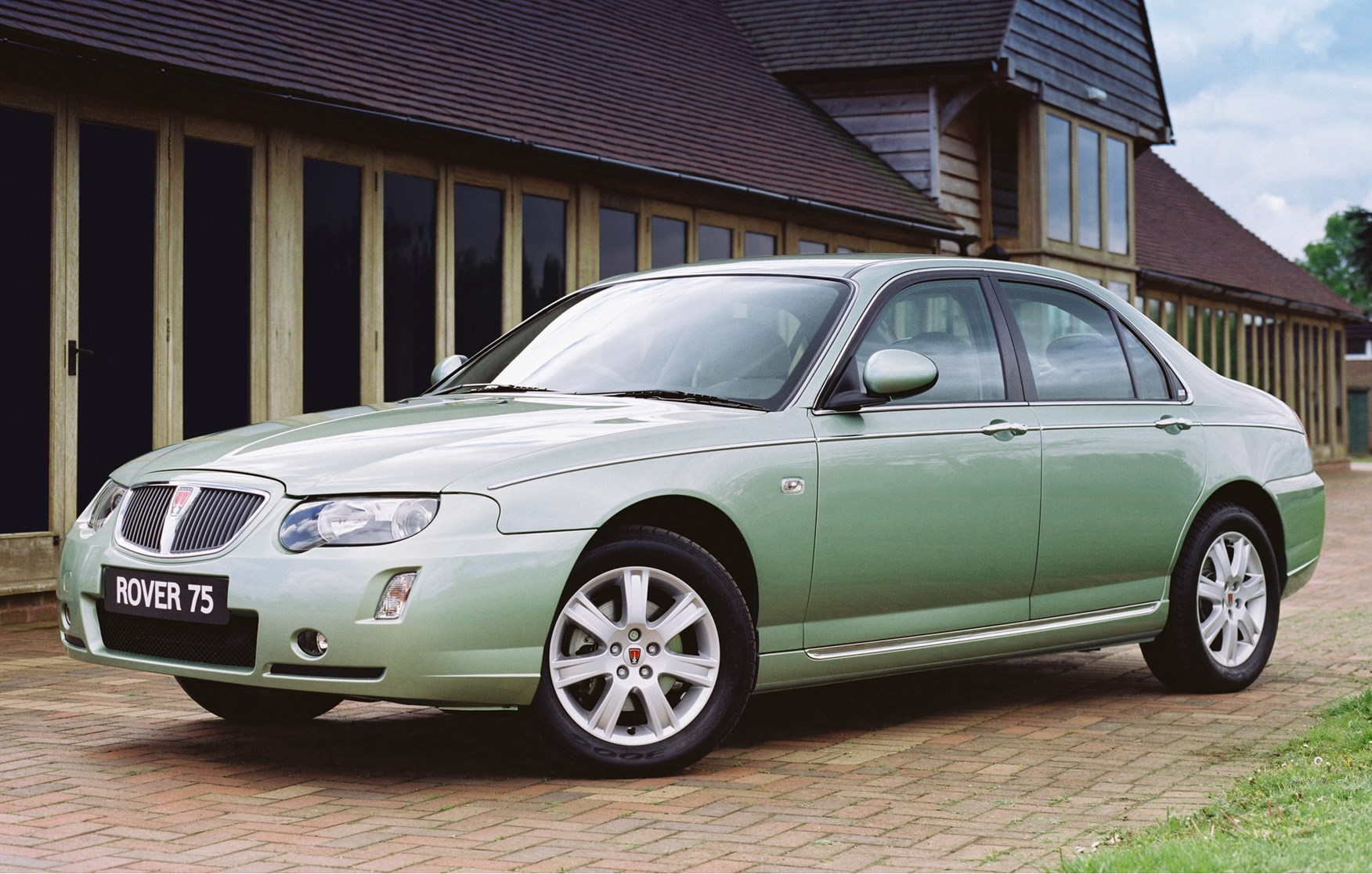 rover 75 saloon review 2004 2005 parkers. Black Bedroom Furniture Sets. Home Design Ideas