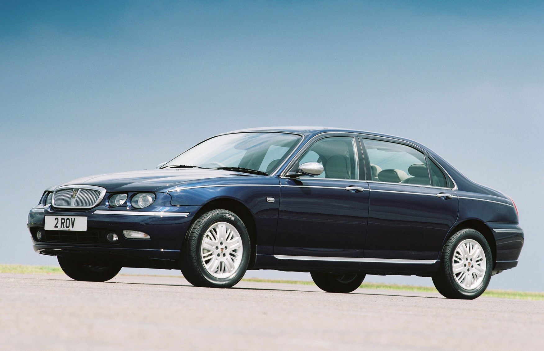 rover 75 saloon review 1999 2004 parkers. Black Bedroom Furniture Sets. Home Design Ideas