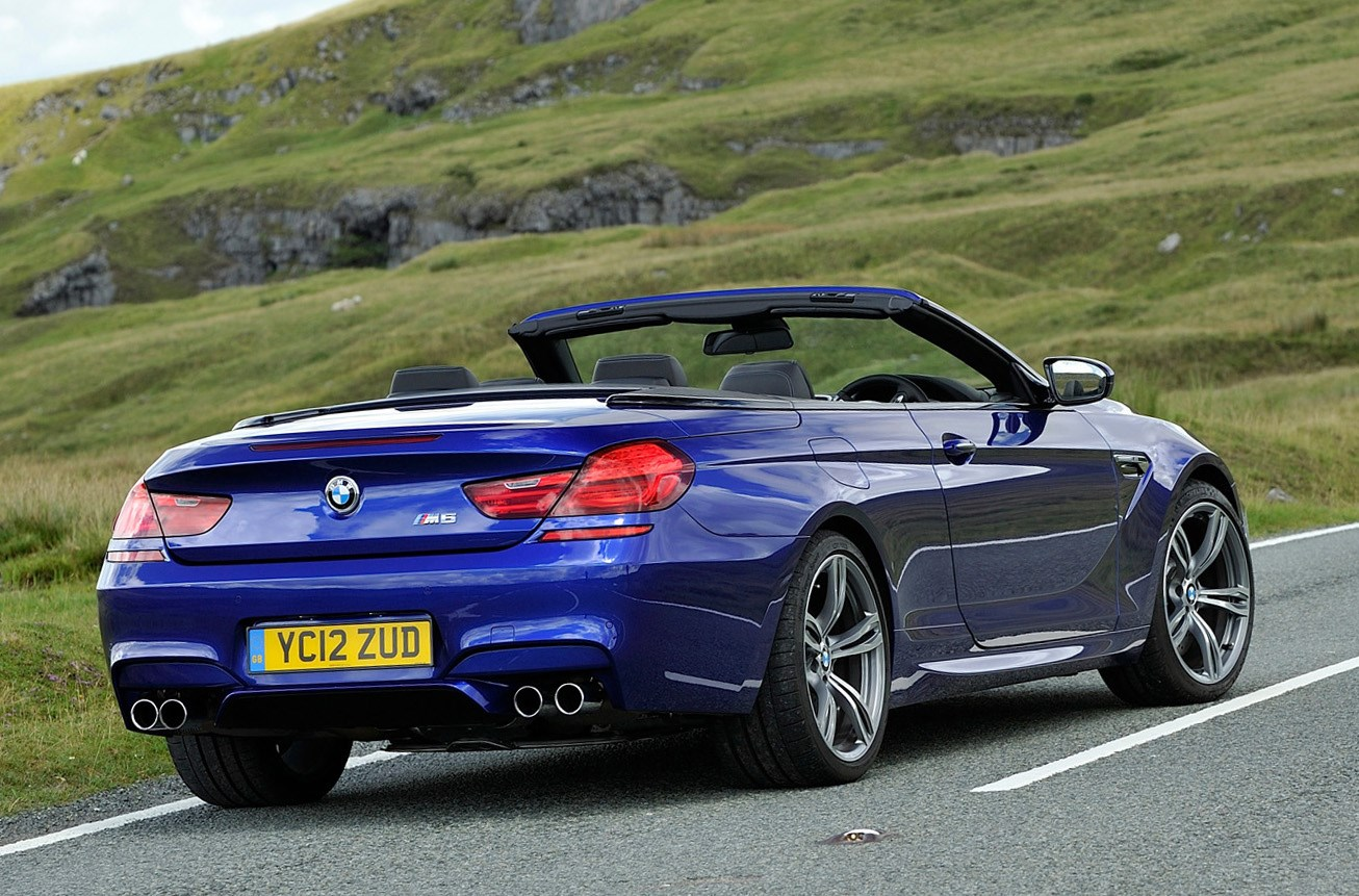 bmw 6 series m6 convertible review 2012 parkers. Black Bedroom Furniture Sets. Home Design Ideas