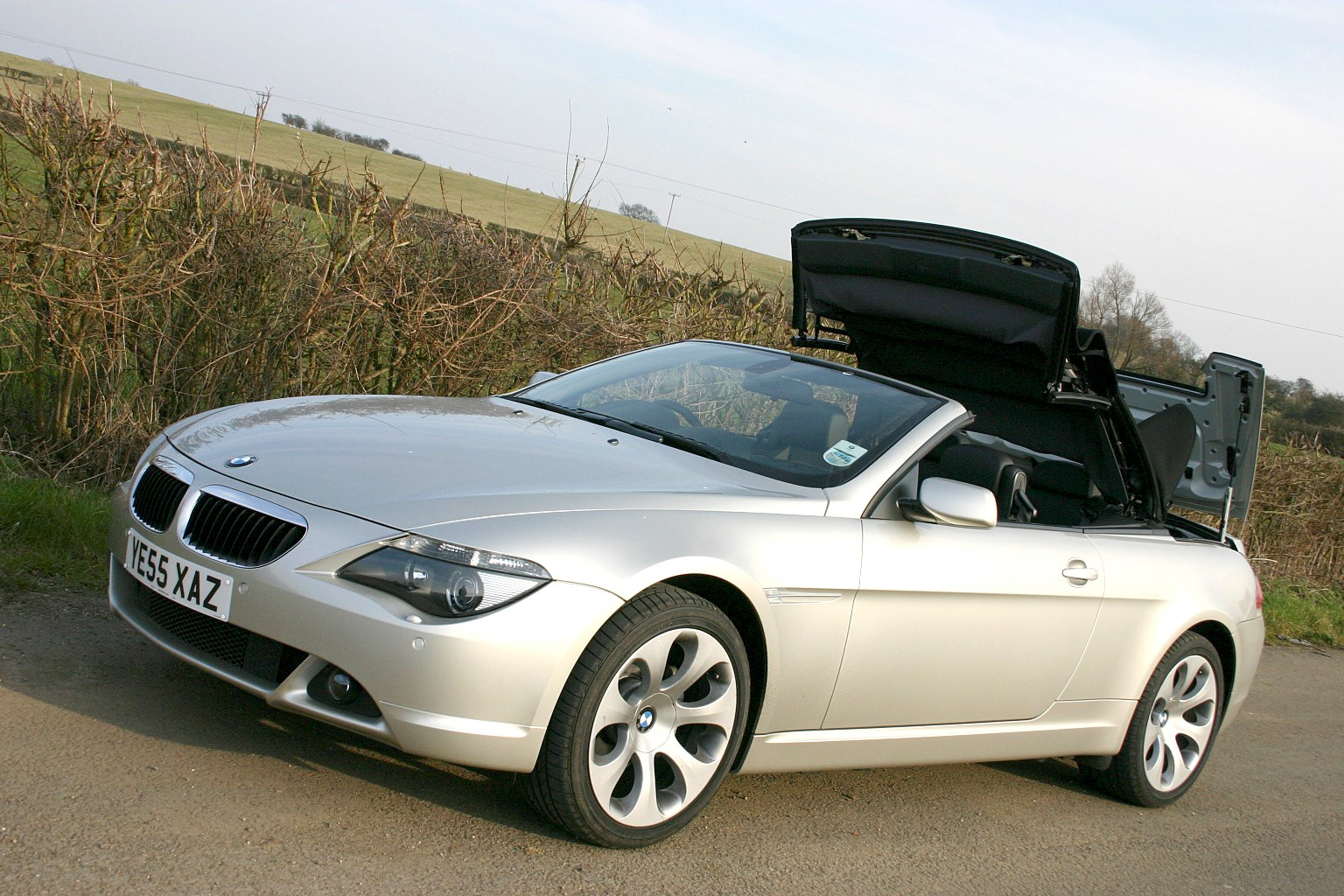 bmw 6 series convertible review 2004 2010 parkers. Black Bedroom Furniture Sets. Home Design Ideas