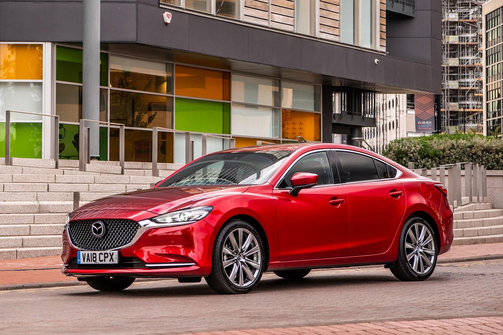 Red 2018 Mazda 6