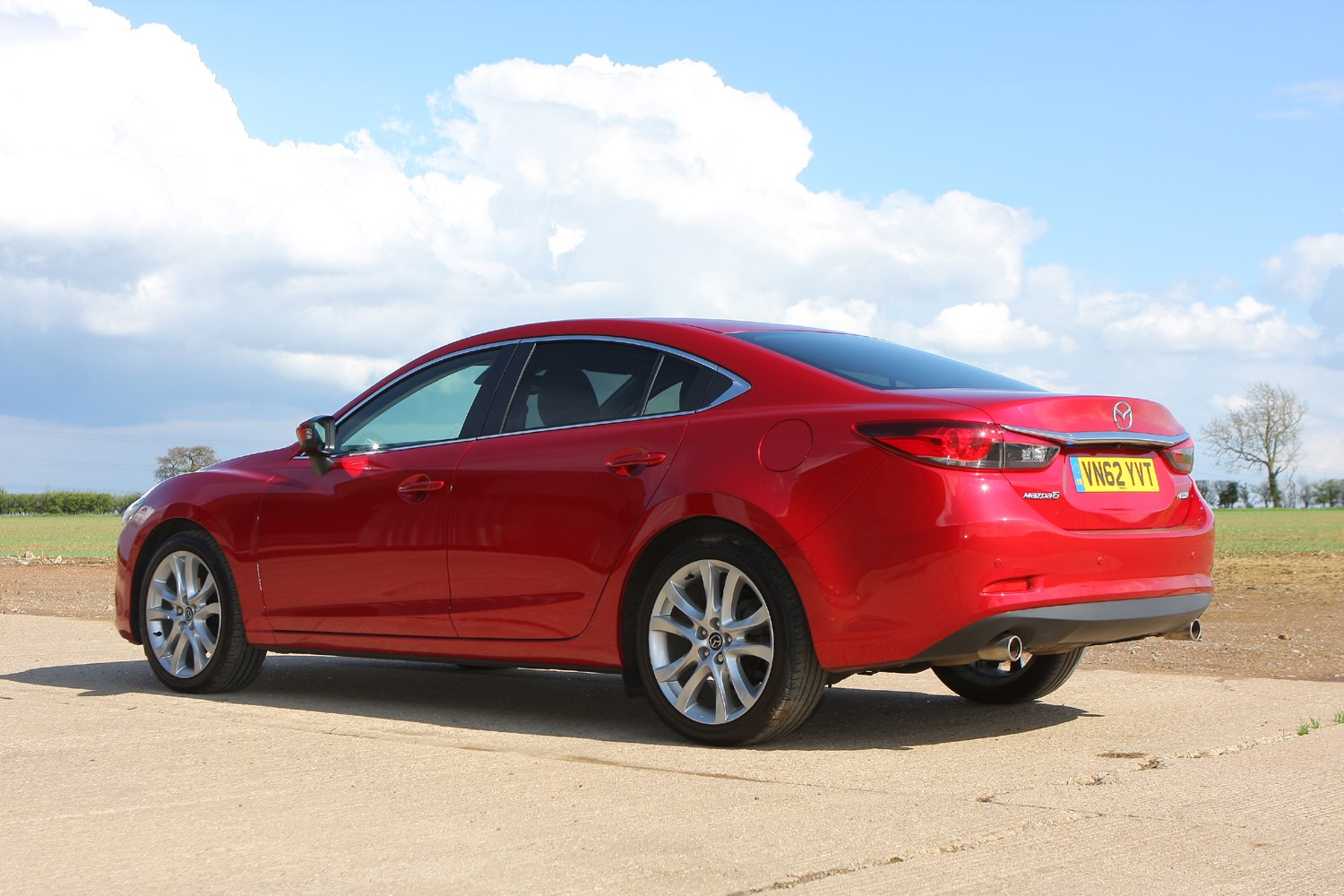 mazda 6 saloon review 2013 parkers