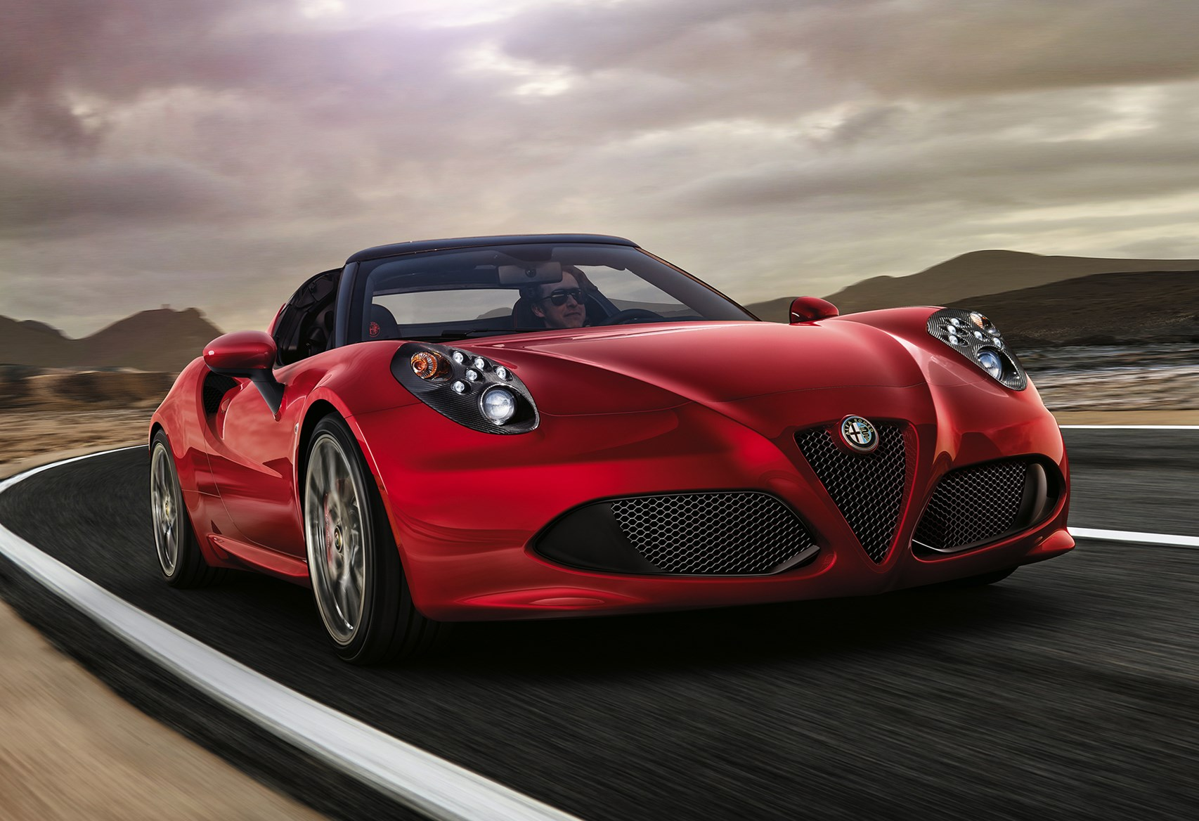 alfa romeo 4c spider review 2015 parkers. Black Bedroom Furniture Sets. Home Design Ideas