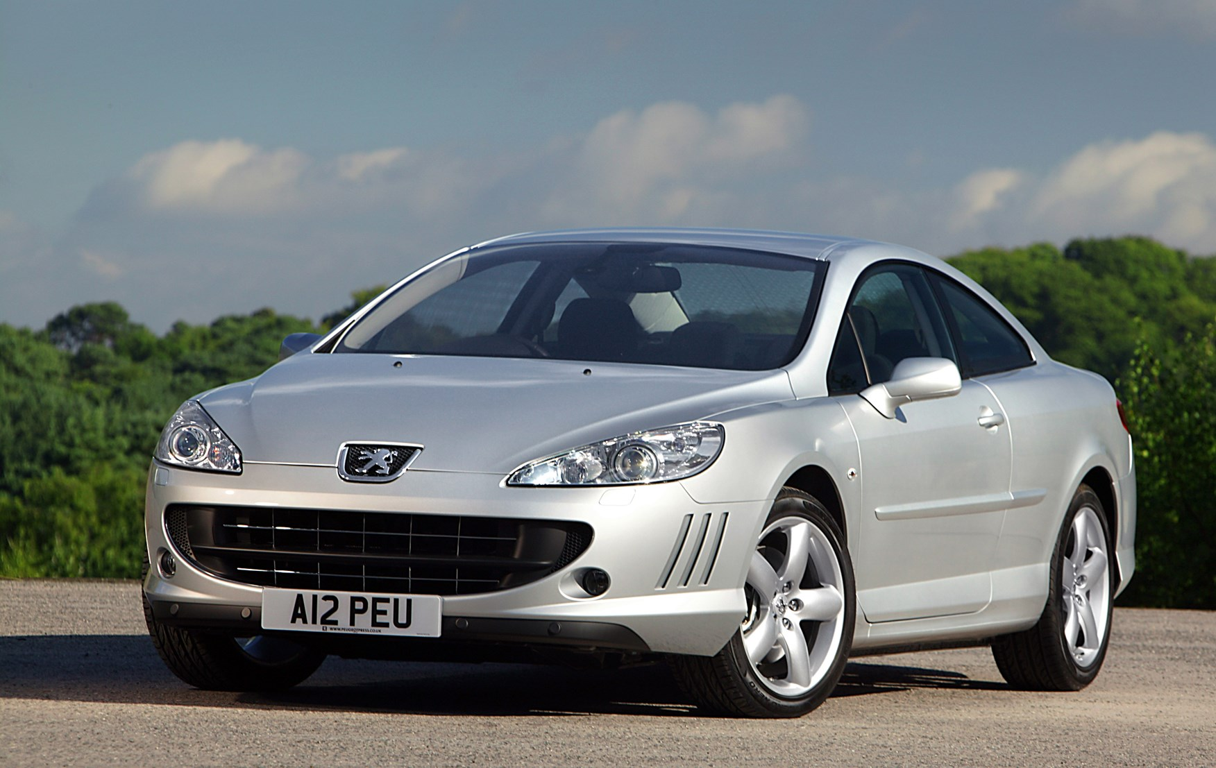 used peugeot 407 coupe 2006 2010 review parkers. Black Bedroom Furniture Sets. Home Design Ideas