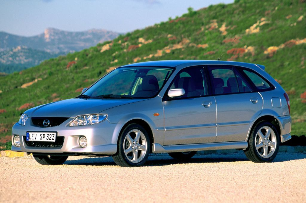 mazda 323 hatchback review 1998 2003 parkers. Black Bedroom Furniture Sets. Home Design Ideas