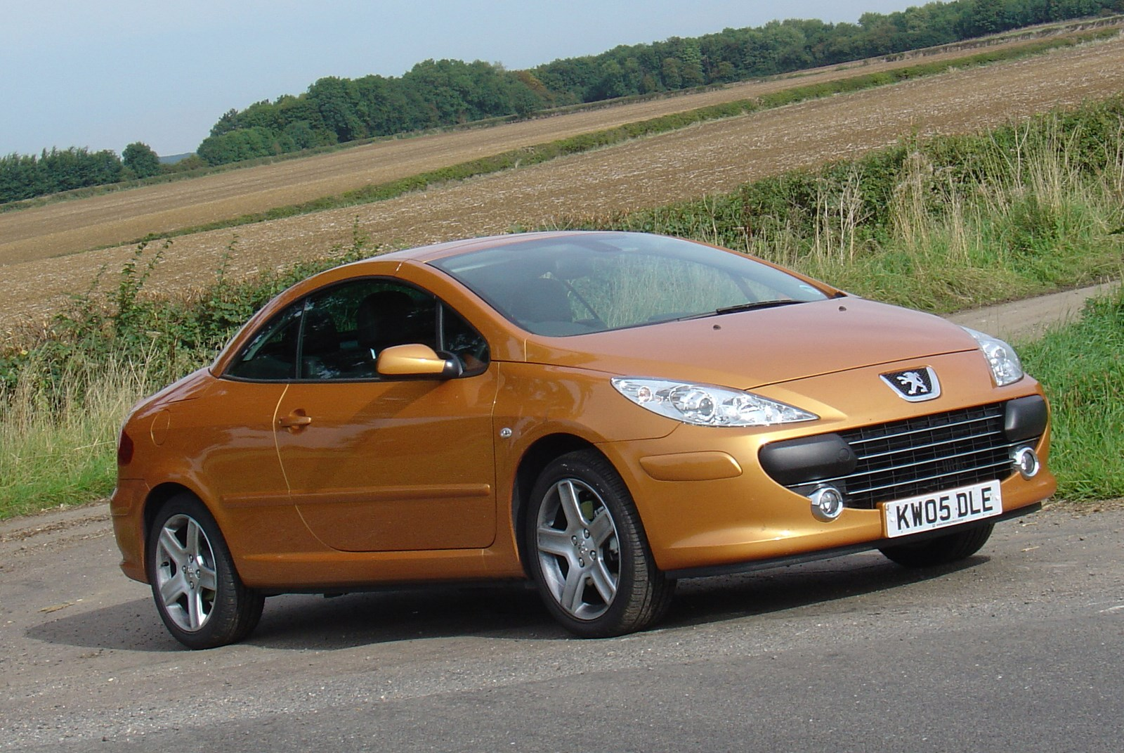 used peugeot 307 coupe cabriolet  2003