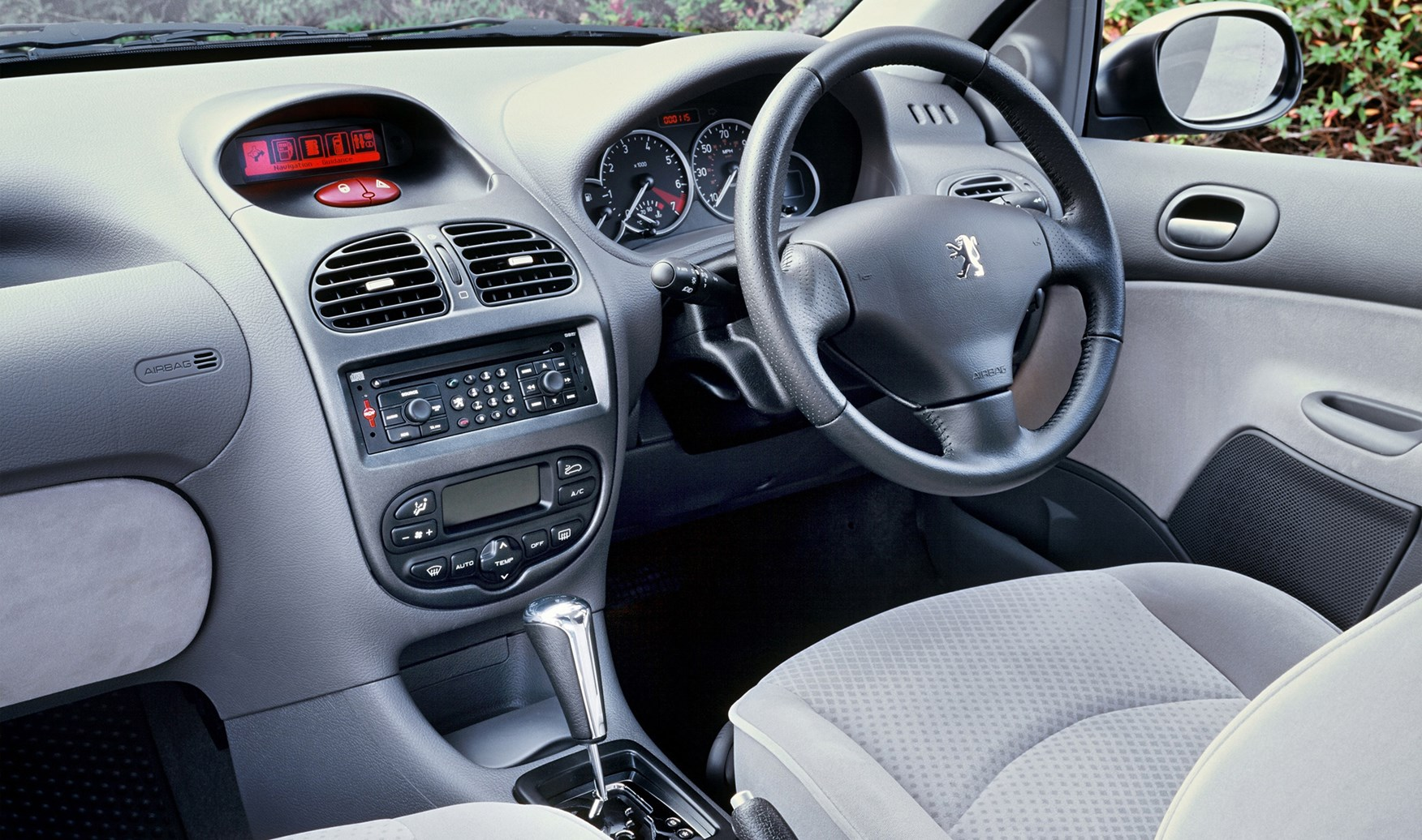 peugeot 206 interior images galleries with a bite. Black Bedroom Furniture Sets. Home Design Ideas