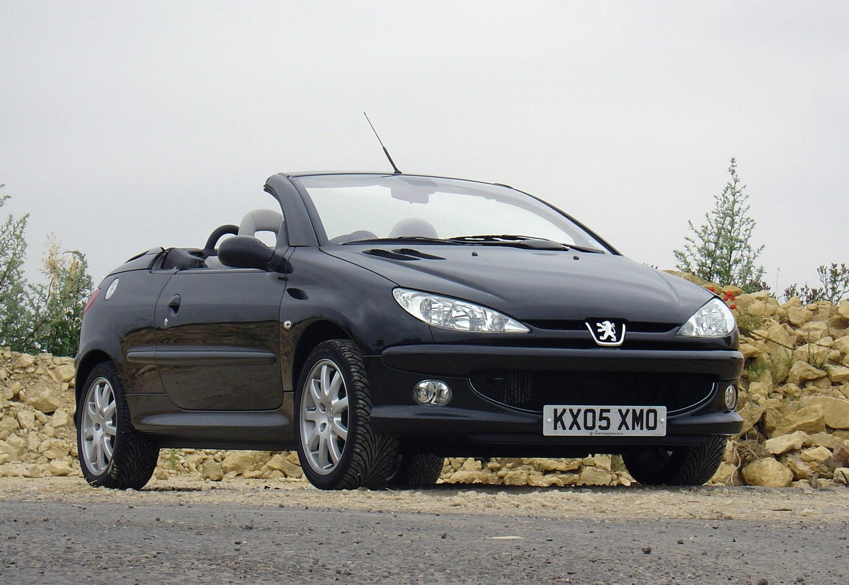 peugeot 206 coupé cabriolet (2001 - 2007) driving & performance