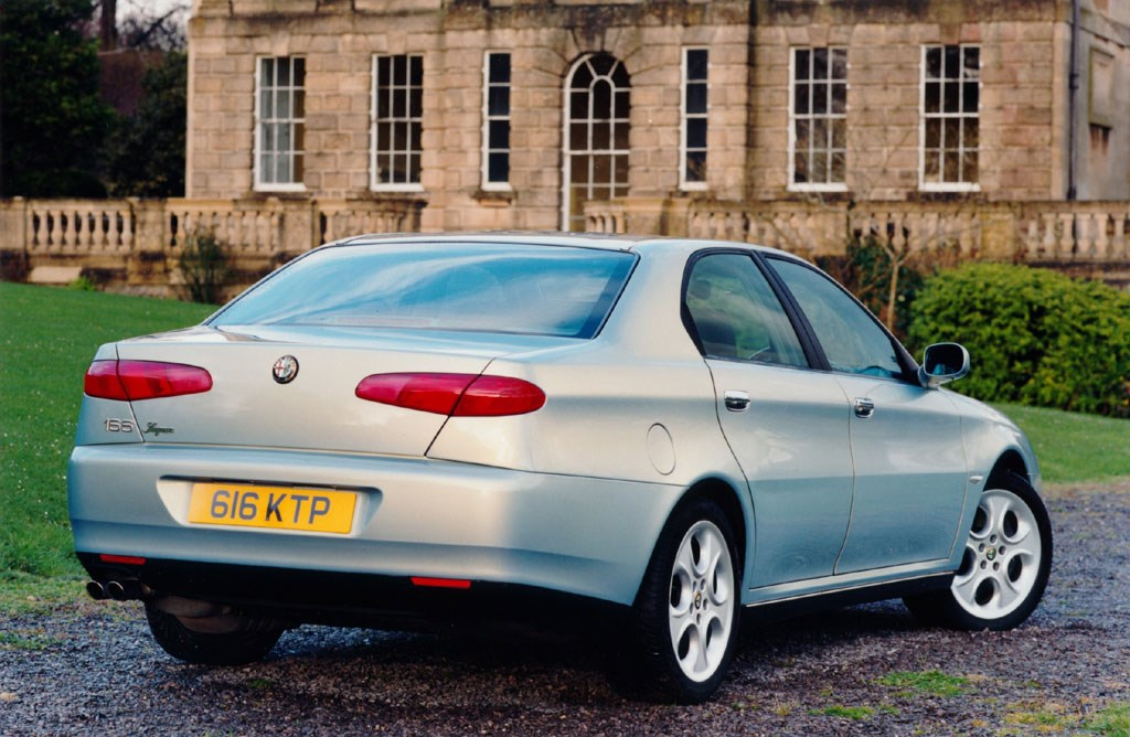 alfa romeo 166 saloon review 1999 2005 parkers. Black Bedroom Furniture Sets. Home Design Ideas