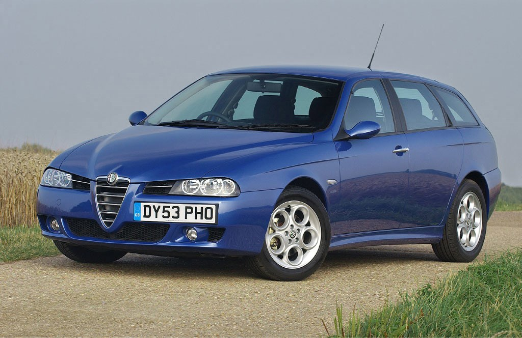 alfa romeo 156 sportwagon review 2000 2005 parkers. Black Bedroom Furniture Sets. Home Design Ideas