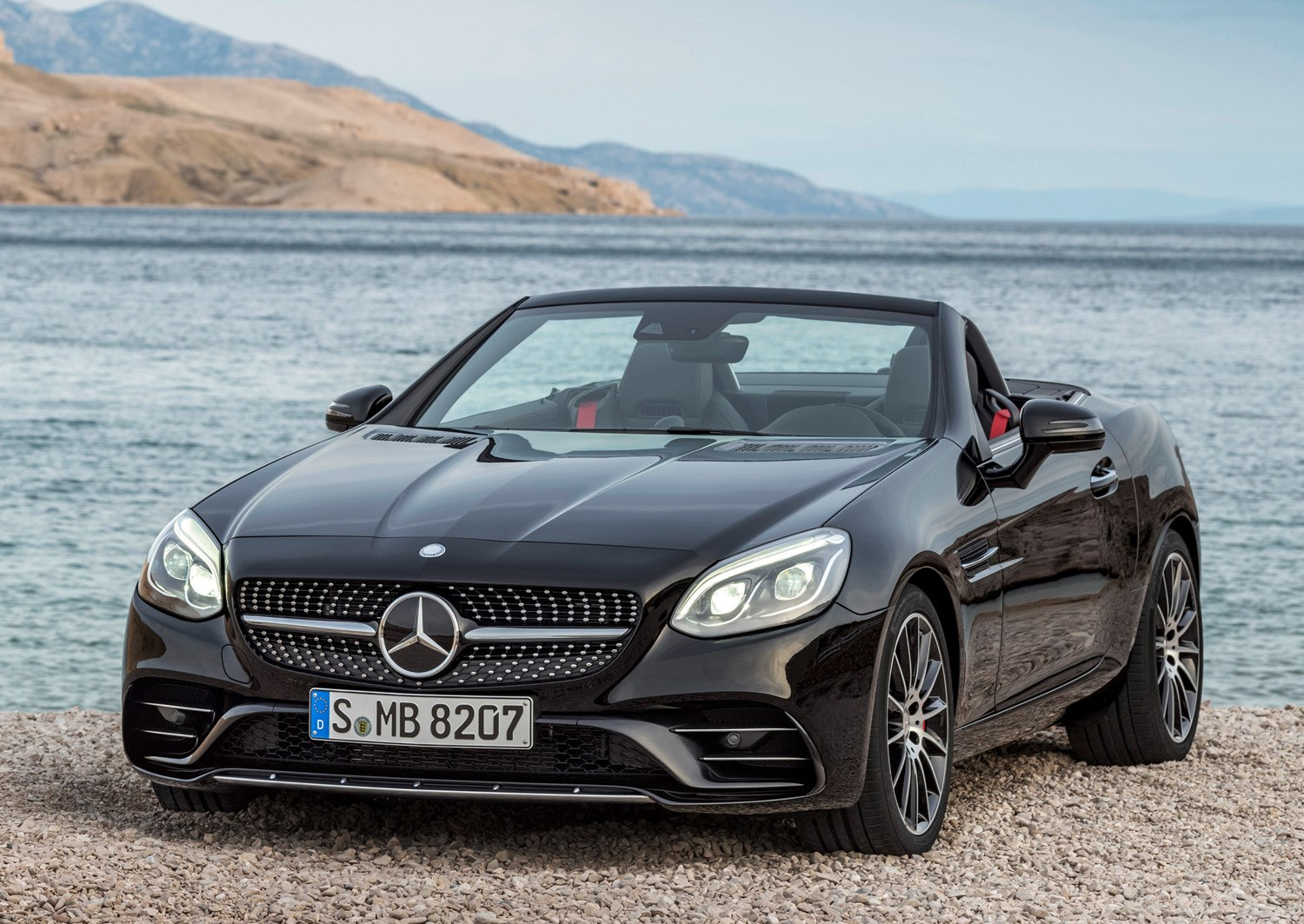 Mercedes Benz Slc Cl 2016 Static Exterior