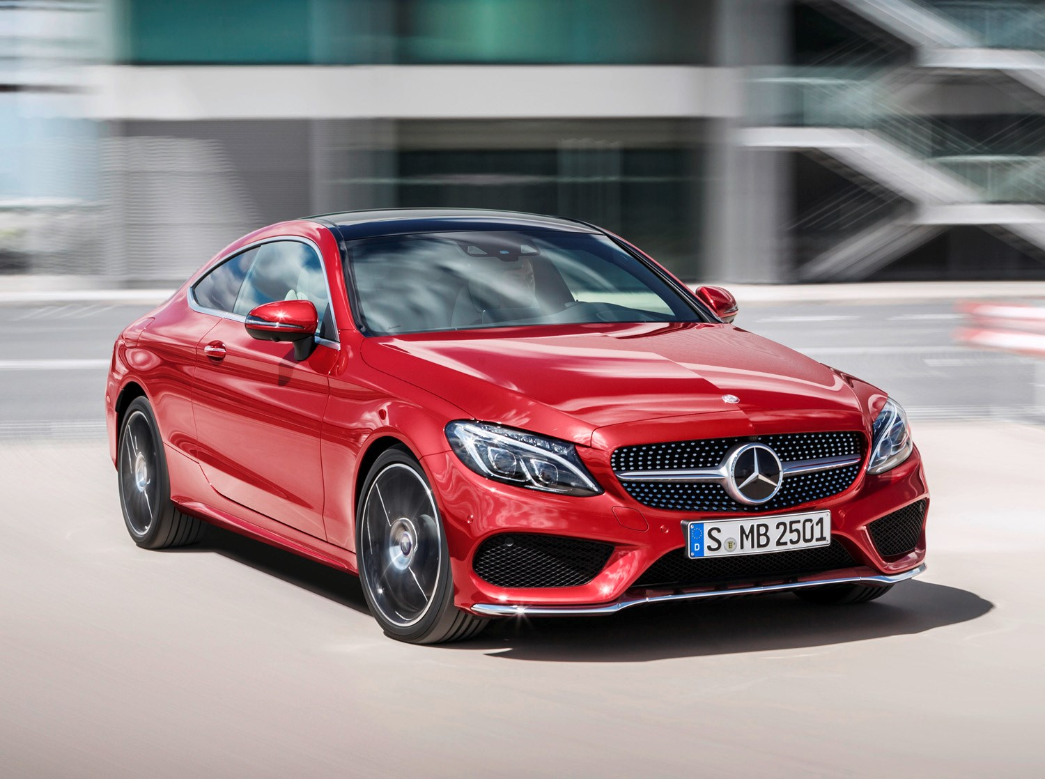 Review on c250 amg coupe