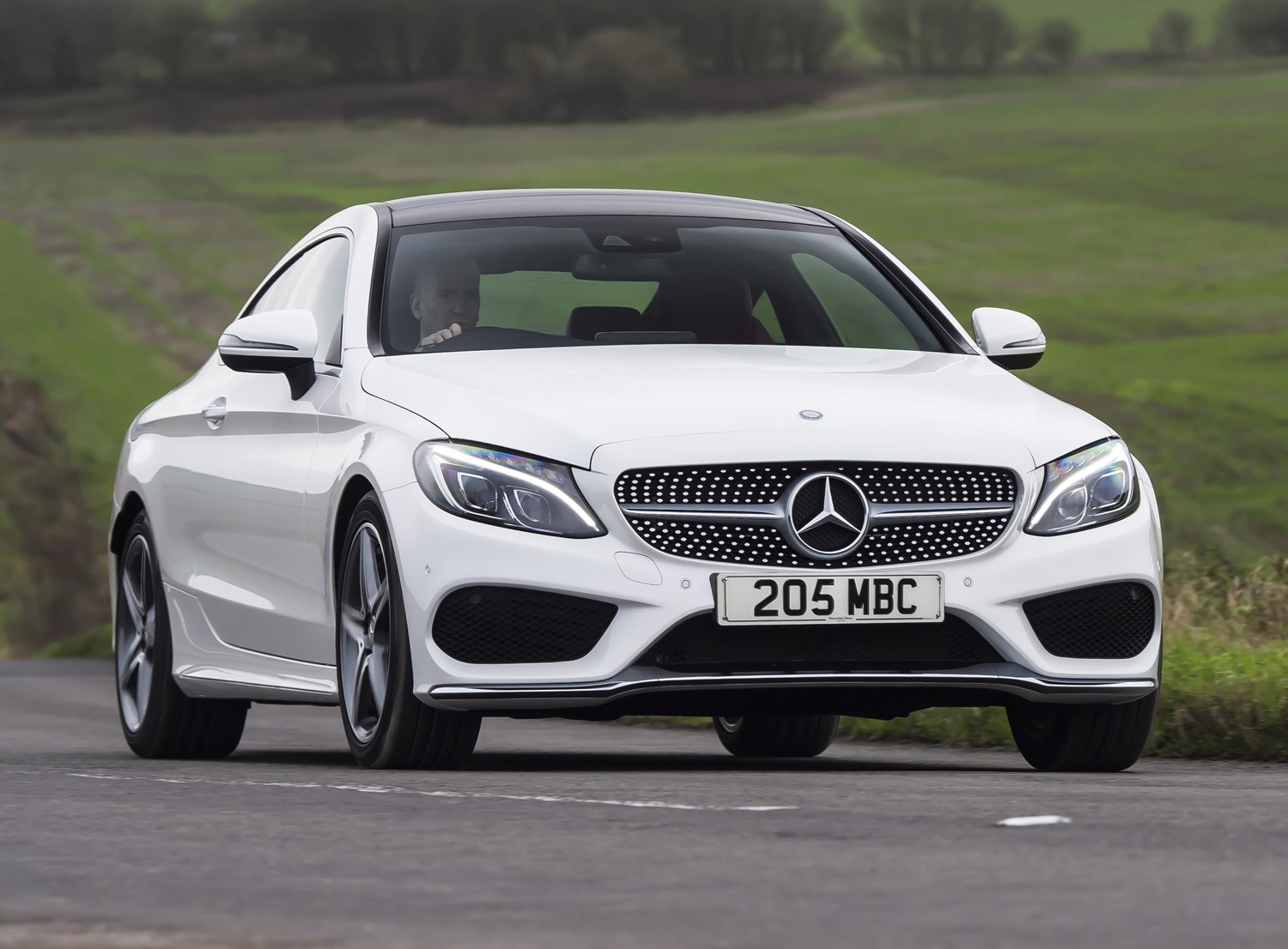 mercedes-benz c-class coupé (2015 - ) features, equipment and