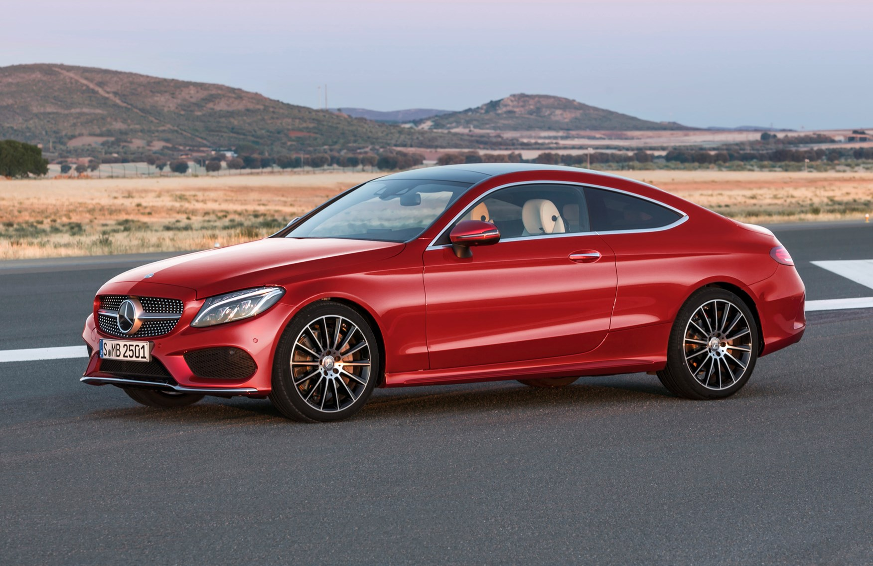 mercedes benz c class coupe review parkers. Black Bedroom Furniture Sets. Home Design Ideas