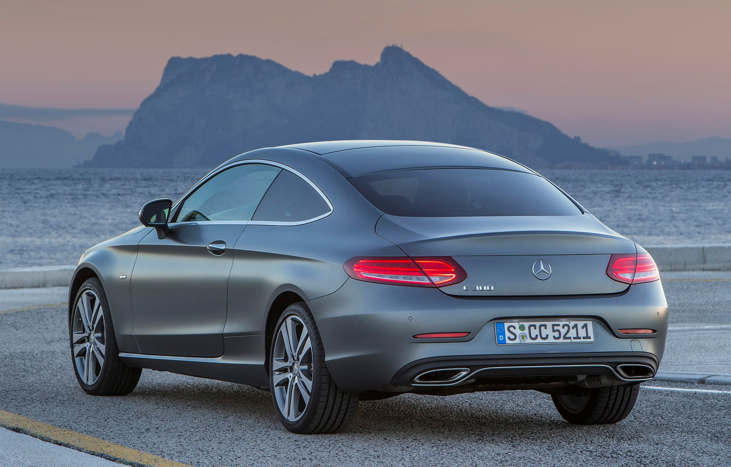 Mercedes Benz C Class Coupe Review Parkers
