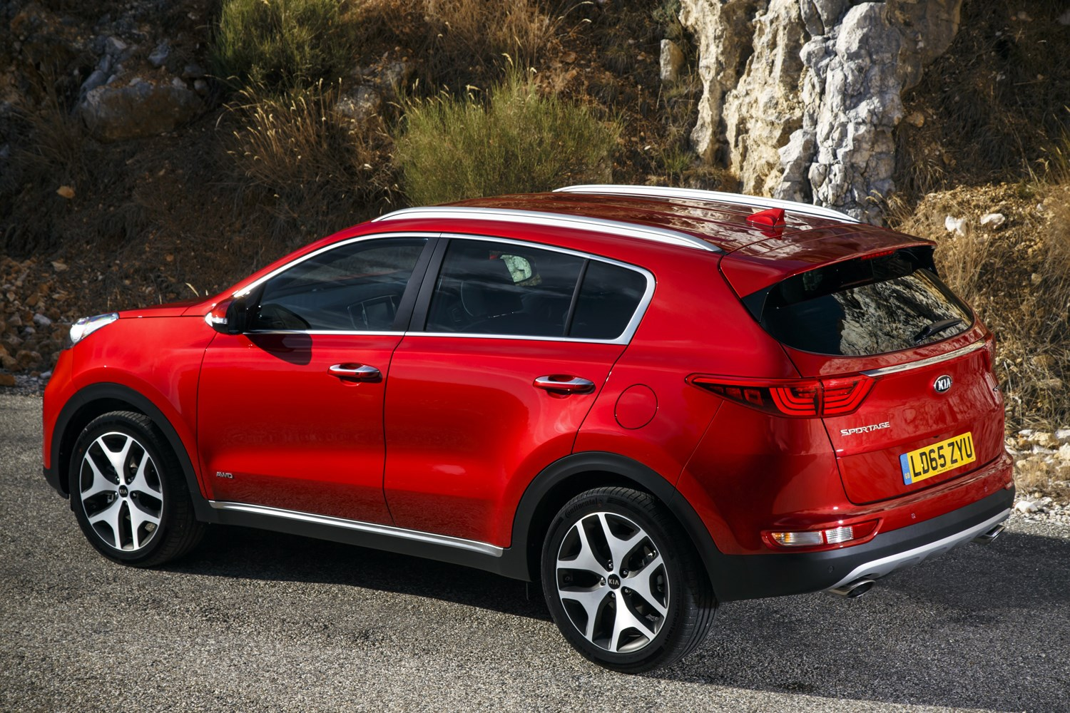 Kia Sportage Review Parkers 2 0 Engine Diagram 2016 Static Exterior