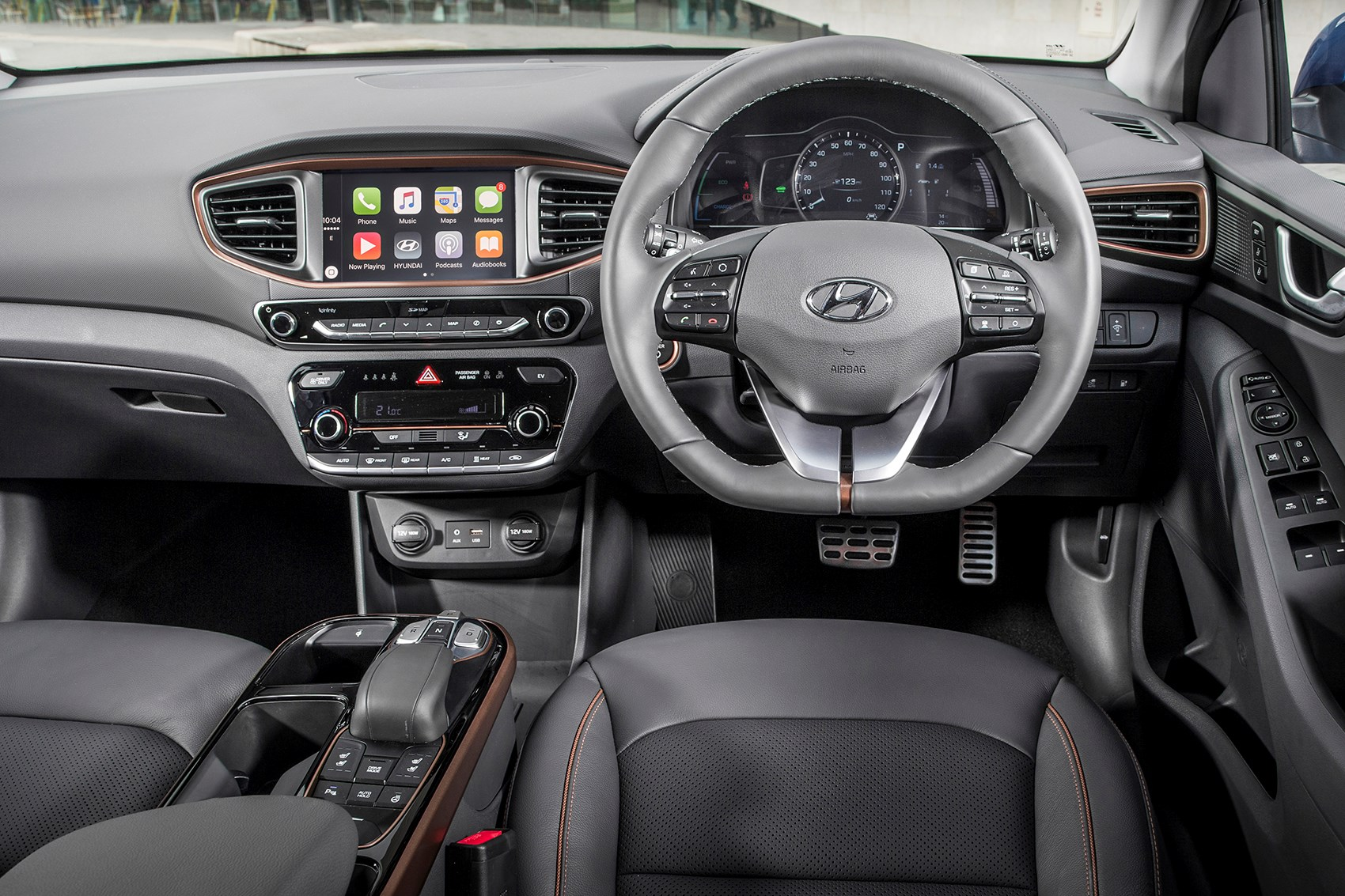 Hyundai Ioniq Electric Driving Position