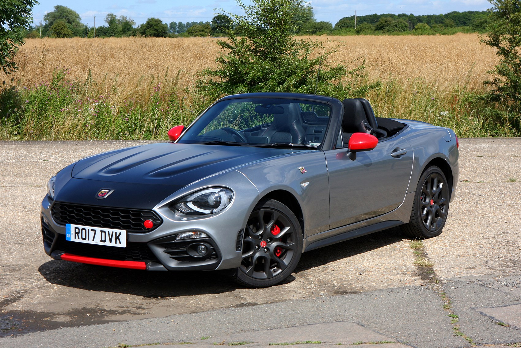 abarth 124 spider review parkers. Black Bedroom Furniture Sets. Home Design Ideas
