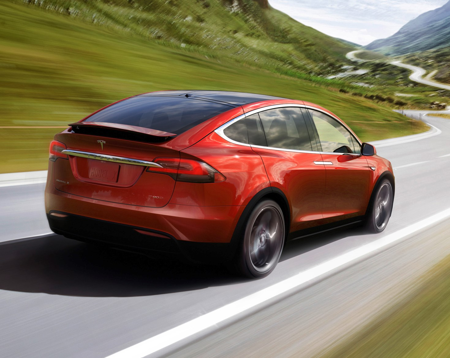 Tesla model x suv 2016 features equipment and for Tesla model x exterior