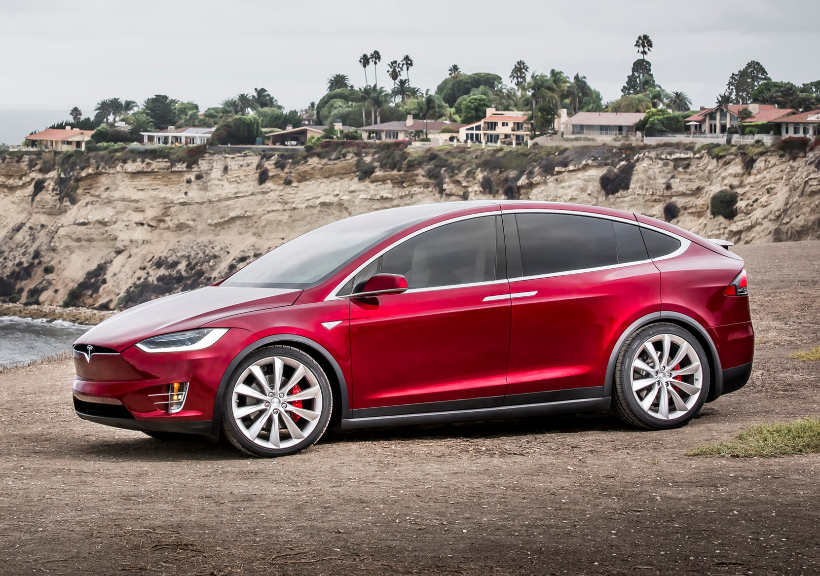 Tesla Model X Suv Review 2016 Parkers