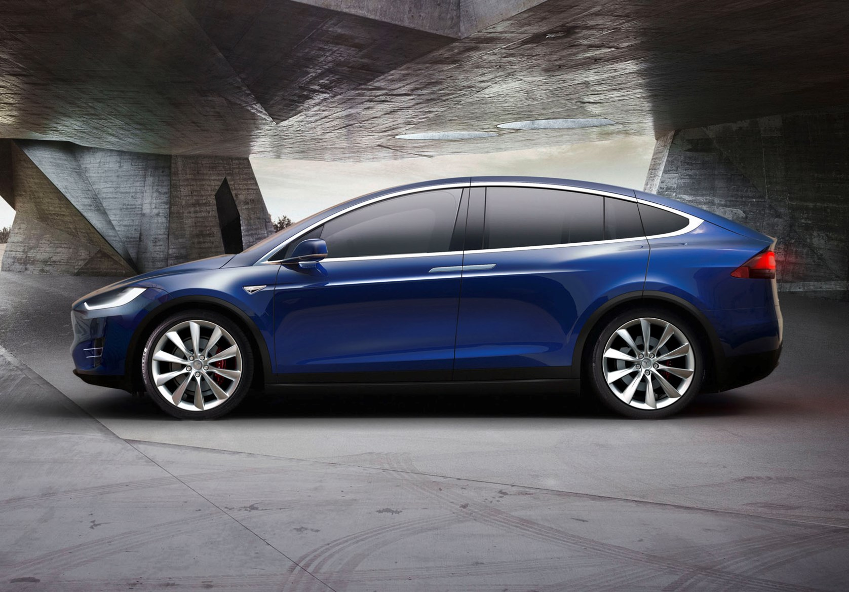 Tesla Model X Suv Review Parkers