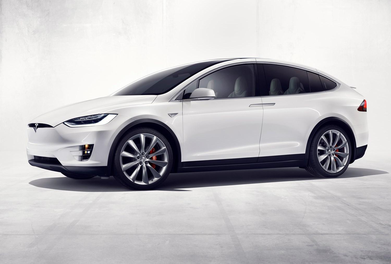 Tesla 2017 Model X Suv Static Exterior 2016