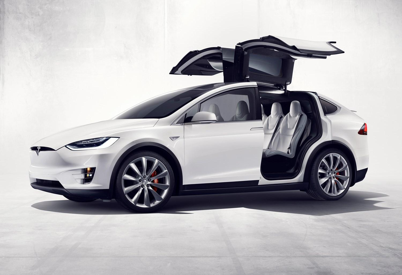 Tesla 2016 Model X Static Exterior