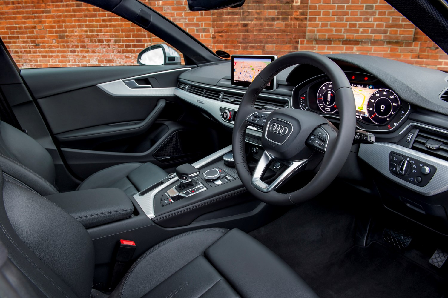 Audi 2016 A4 Allroad Interior Detail