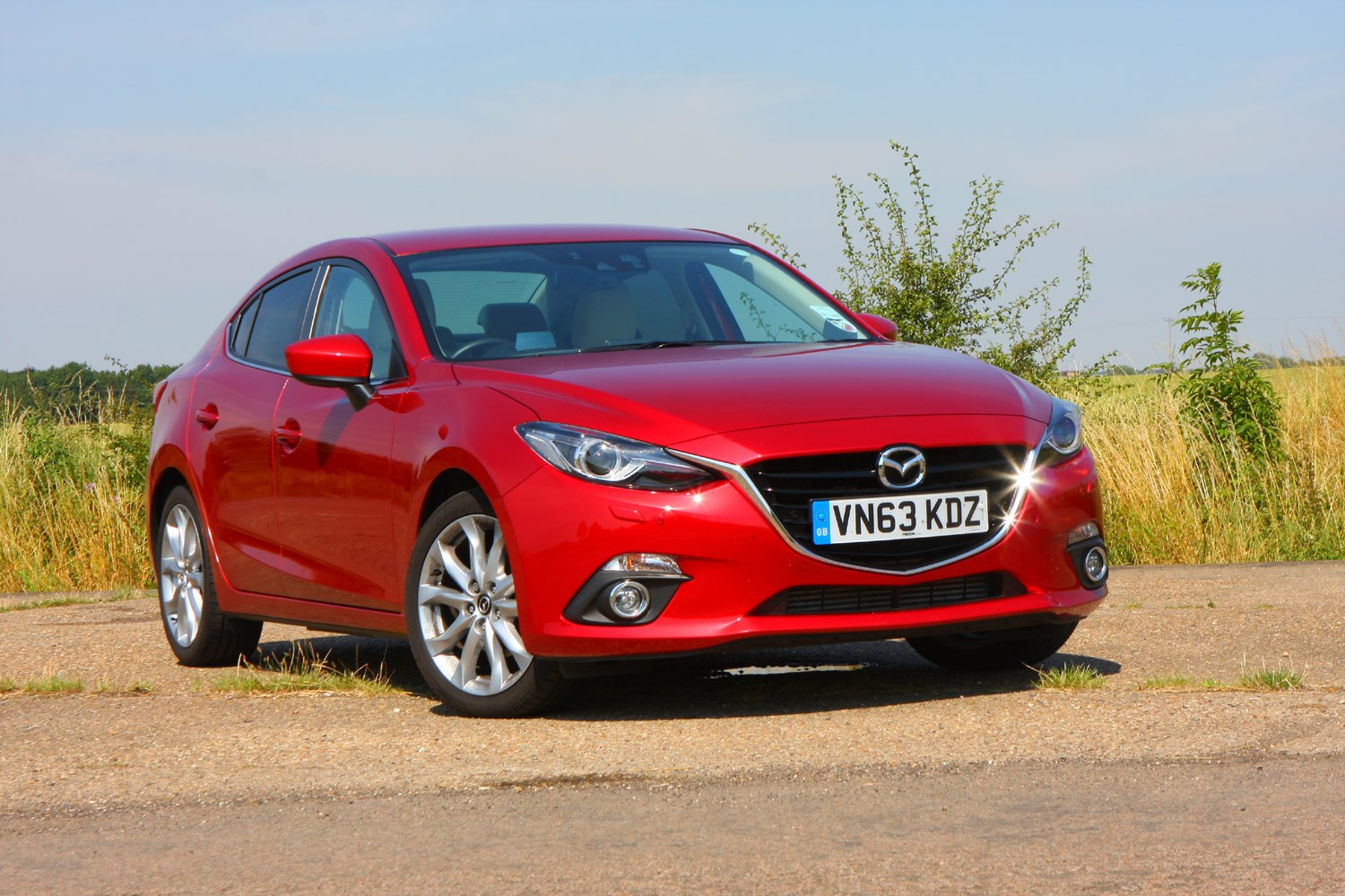 mazda  fastback   features equipment  accessories parkers