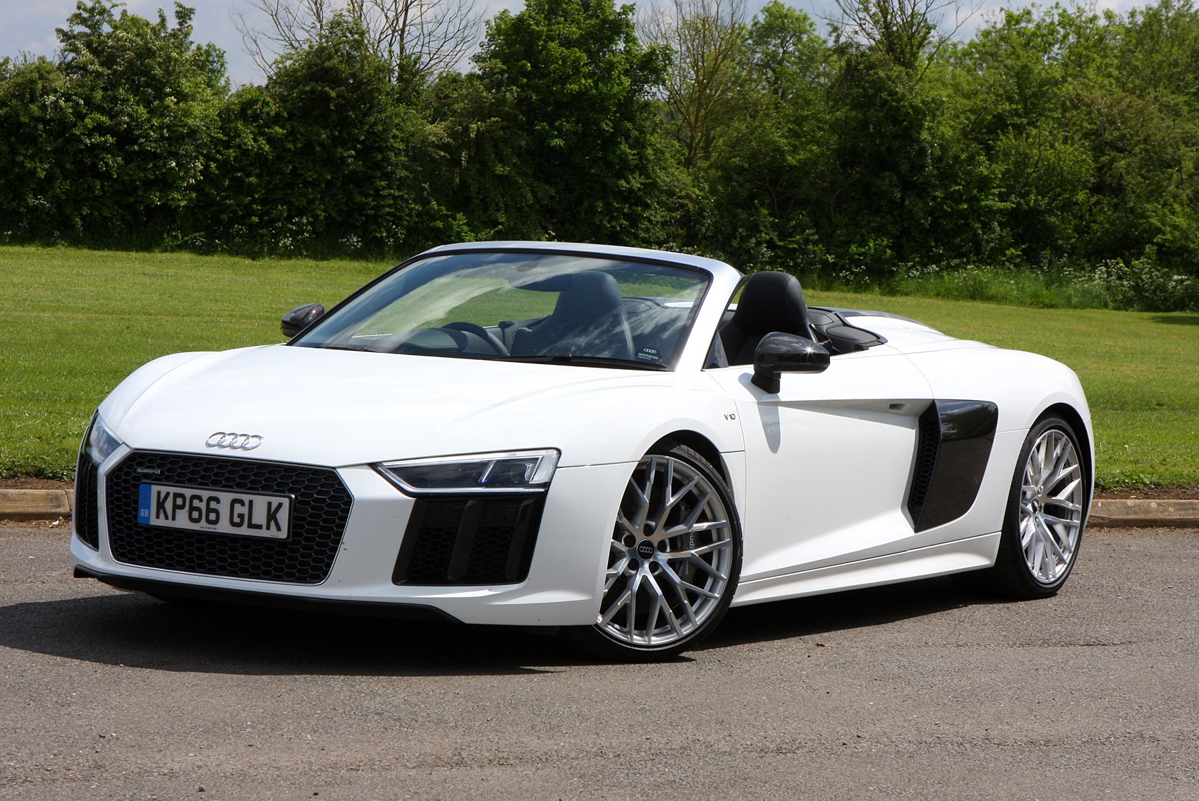 Audi R8 Spyder Review Summary Parkers