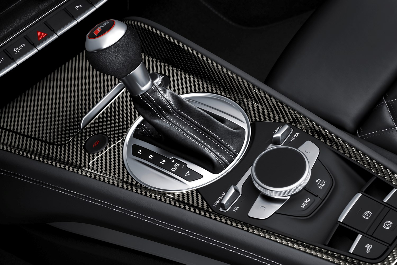 audi 2016 tt rs roadster interior detail